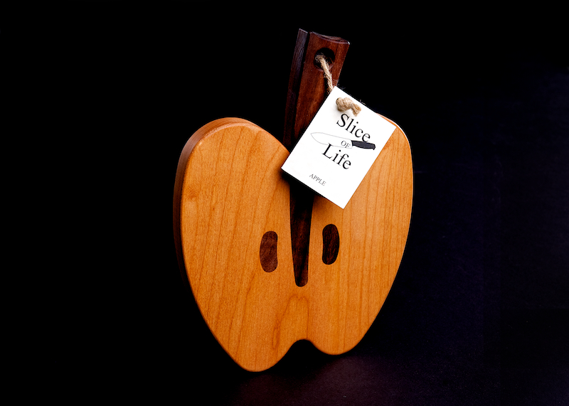 Quot Apple Quot Serving Cutting Board Unique High Quality Maple