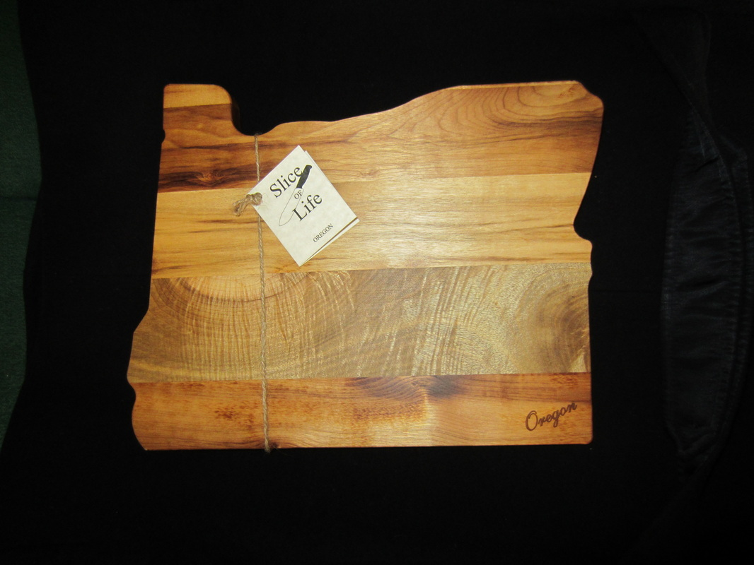 New Quot Oregon Quot Shaped Serving Cutting Board High Quality